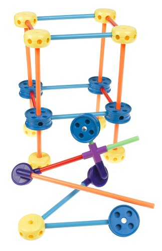 Best Tinker Toys For Kids : Tinker toy piece plastic construction tinkertoy building