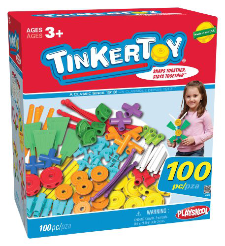 Tinkertoy Essentials 100 Piece Value Set